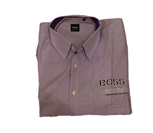 Boss 515 Oliver Chemise Noir - Violet - L