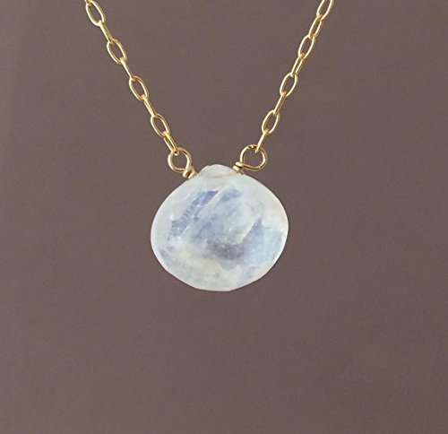 white moonstone necklace