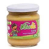 Naturvita | Pack 12 Tarritos Infantiles Ecológicos Carne y Crema Verduras | Puré Infantil Carne y Crema Verduras | Pack 12 Purés Ecológicos Infantiles | Cremas Infantiles Naturales