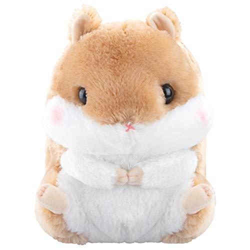 Meralens Stofftier Plüschtier Hamster Braun Kuscheltier Farbe - Braun Kuscheltier Manga Anime Otaku Kawaii Stofftier Plüschtier Plüsch Plush Original aus Japan Höhe 30cm