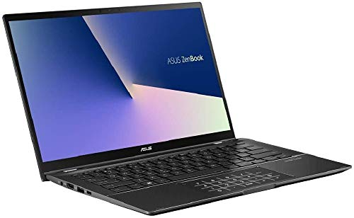 ASUS ZenBook Flip 14 UX463FA (90NB0NW1-M00350) 35,5 cm (14 Zoll, Full HD, WV, Touch) Convertible Notebook (Intel Core i5-10210U, Intel UHD-Grafik 620, 8GB RAM, 512GB SSD, Windows 10) Gun Grey