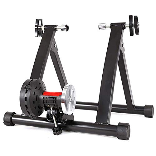 SLRMKK Bicicleta Turbo Trainer, Bicicleta Magnetic Turbo Trainer Magnetic Bike Trainer Soporte Resistencia Variable Bike Trainer Ejercicio Fitness Marco estacionario