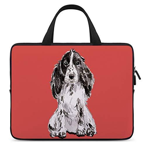 Universal Laptop Computer Tablet,Case,Cover for Apple/MacBook/HP/Acer/Asus/Dell/Lenovo/Samsung,Laptop Sleeve,Color for Dog English Springer Spaniel Carnivore,17inch