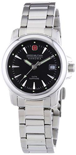 Swiss Military Hanowa 06-7230.04.007 - Reloj de Pulsera Mujer, Acero Inoxidable, Color Plateado