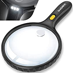 magnifying glass as retirement gift