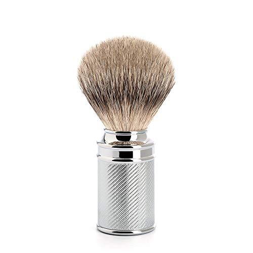 MÜHLE TRADITIONAL Chrome Silvertip Badger Shaving Brush