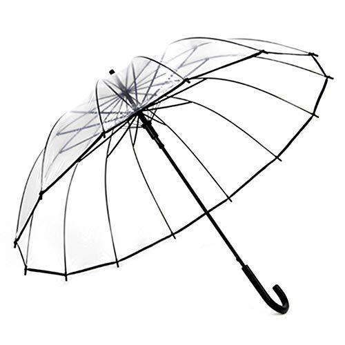 Big seller Regenschirme Klare Kuppel Regenschirm - weißer Streifen