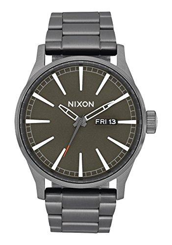 Nixon Orologio Analogico Quarzo Uomo con Cinturino in Acciaio Inox A356-2947-00