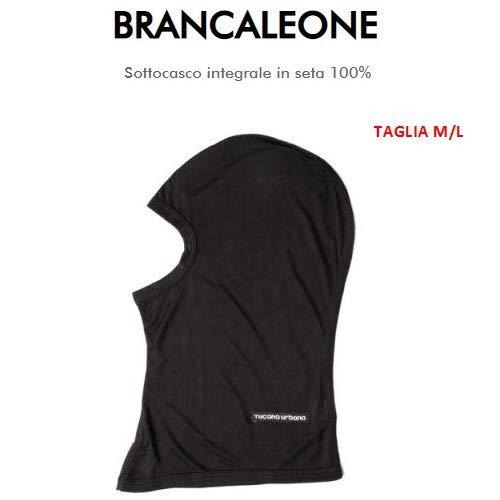 Badjas voor heren, van 100% badstof Tucano Urbano 651 maat M-L onderstel compleet in zwart en koudwit