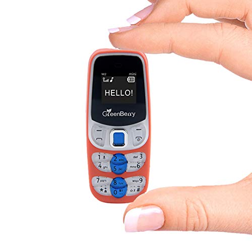 GreenBerry M2 Mini World Smallest Mobile Cellphone (Orange)