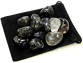 Zentron Crystal Collection: 1/2 Pound Tumbled Smoky Quartz