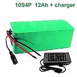 Seilylanka 36V 12Ah 10S4P Li-ION Batterie électrique Vélo électrique Ebike 42V