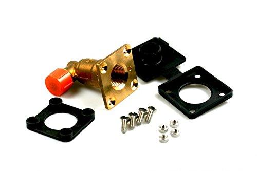 Füllventil HK Flach W21,8 Winkel 90° für 8mm Kupferleitung, LPG Autogas GPL