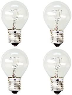 GE Lighting 35156 40-Watt High Intensity Appliance Light S11 1CD Light Bulb (4 Bulbs)
