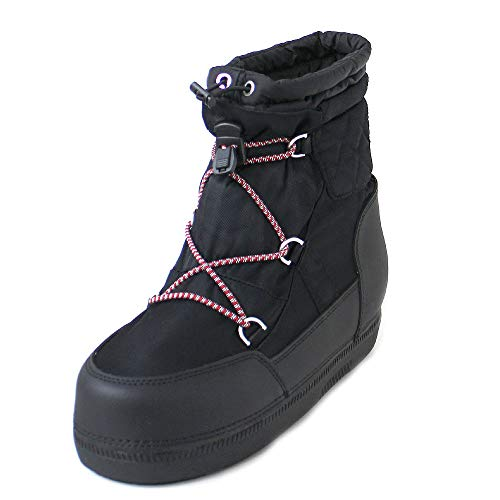 HUNTER ORG Snow Short Quilted Boot Deportivas Mujeres Negro - 40 -...