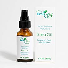 Ethically Sourced Emu Oil for Chemo & Radiation Burns LS Piercing Aftercare Tattoo After Care Face & Body Moisturizer Lichen Sclerosus Relief 100% Pure AEA Certified