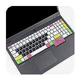 Silikon-Schutzhülle für Lenovo IdeaPad Gaming 3i 3 i 15 Zoll AMD Gaming Laptop 15,6 Zoll 2020 Candy Schwarz