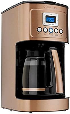 Cuisinart DCC-3200CPAMZ PerfecTemp 14 Cup Programmable Coffeemaker - Copper