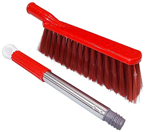 Uva World Multipurpose Cleaning Furniture Bed Duster Floor Car Seats Carpet Mats Sofa Broom Brush || Color May Vary ||
