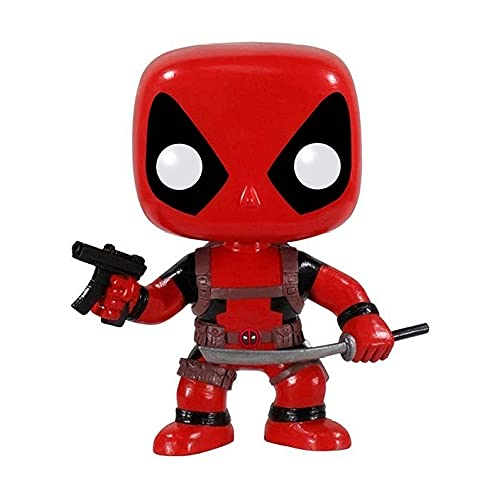 Funko 3052 Marvel POP Vinyl Deadpool With Gun and Sword
