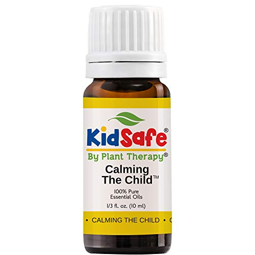 Plant Therapy Essential Oils Calming The Child Synergy - Relaxing and Soothing Blend 100% Pure, KidSafe, Undiluted, Natural Aromatherapy, Therapeutic Grade 10 mL (1/3 oz)