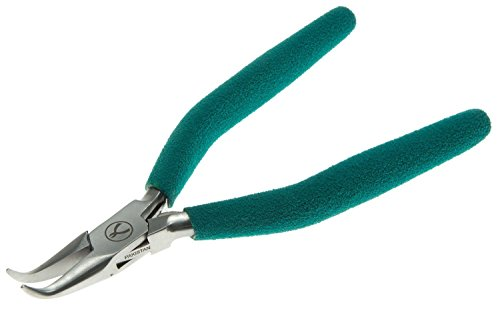 Wubbers Classic Series Bent Chain Nose Jeweler's Pliers