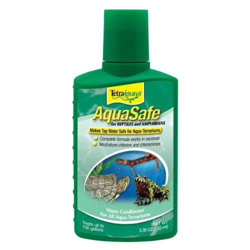 TetraFauna AquaSafe Water Conditioner for Reptiles & Amphibians 3.38oz (75077009)