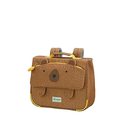 Samsonite Happy Sammies - Schulranzen S, 32 cm, 8 L, Braun (Teddy Bear)