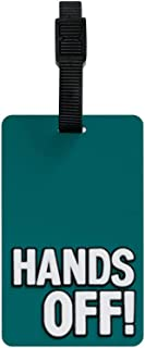 TangoTag Hands Off Luggage Tag, Green, HTC-TT817
