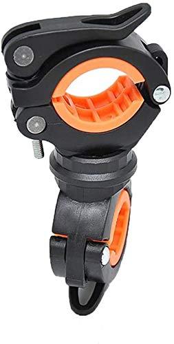 Lamphouder, de fietsendrager monteren van de lamphouder klem 360 draaien toorts