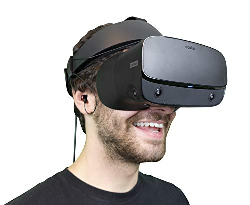 DeadEyeVR Advanced Rift S Kopfhörer – Rift S spezifische Kopfhörer, die bequem am Oculus Rift S Headset befestigt werden