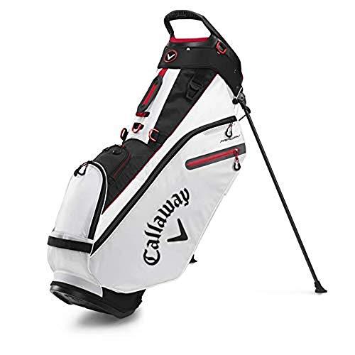 Callaway Fairway Golf Standtasche (2020), Weiß/Schwarz