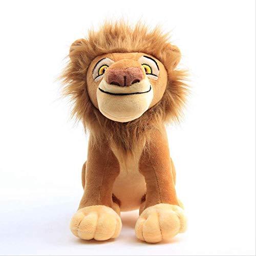 qwertt Plüschpuppe Spielzeug König Der Löwen Simba Nana Mufasa Anime Filmpuppe Weiche Plüschtiere Kinder Geschenke 26cm Mufasa