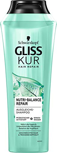 Gliss Kur Nutri-Balance Repair Shampoo, 250 ml