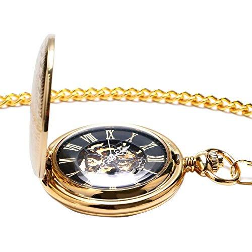 WUXIAO Exquisite Taschenuhr: Taschenuhr, Retro Fahrradförmiges Quarzbronze-Rad Halskette Anhängeruhr Mode Geschenke Für Männer Frauen Kind Fahrrad LiebhaberCommodity Code: LXJ - 213 (Color : Gold)