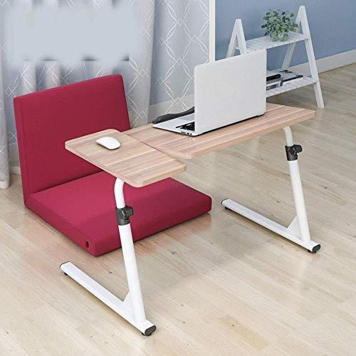 WXDP Selbstfahrender Rollstuhl,Laptop Tisch Sofa Tisch Beistelltische Sofa Beistelltisch, höhenverstellbar Laptop Schreibtisch Überbetttisch Tragbares Comp
