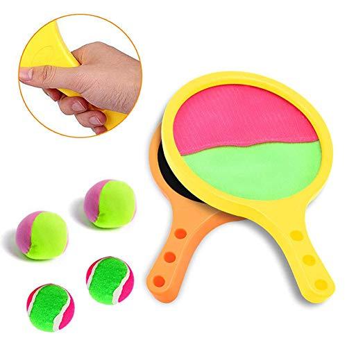 Outdoor-Spielzeug für 3-8-jährige Jungen Toss & Catch Game Racket-Set Tennis Baseball Sommer-Spiel Sand & Beach-Spielzeug für Kinder Geschenke