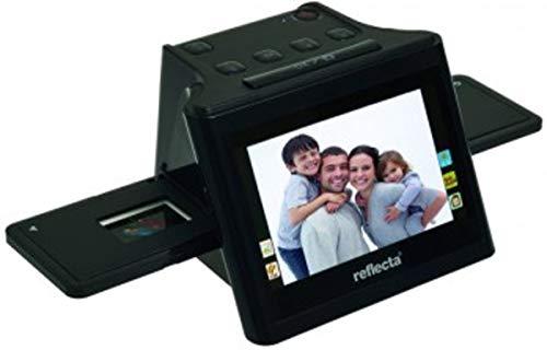 Reflecta Negativscanner 14 Megapixel Digitalisierung ohne PC, Display, Speicherkarten-Steckplatz, TV