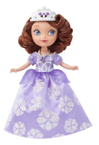 Disney Junior – Princesse Sofia – Sofia en Robe Violette – Poupée 18 cm