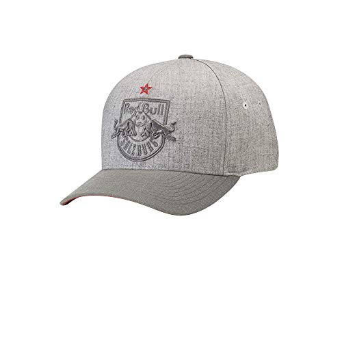 Red Bull Salzburg Greylight Cap, Youth One Size - Original Merchandise