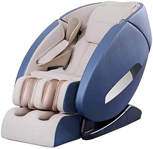 Sillón de masaje Masaje, Presidente de masaje de cuerpo completo y Shiatsu reclinable, Música Bluetooth totalmente Airbags cuerpo de calefacción y vibración 3D Presidente de masaje Inicio ,Multifunció