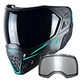Empire EVS Thermal Paintball Mask - Black / Aqua