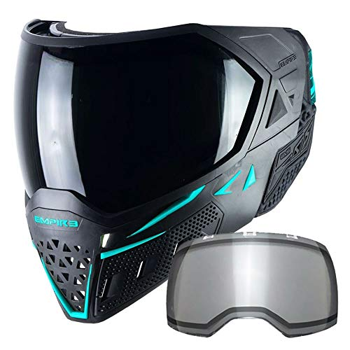 Empire EVS Thermal Paintball Mask - Black / Aqua