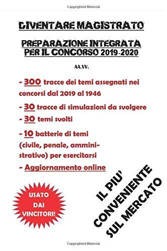 Diventare magistrato: Preparazione integrata per il concorso 2019-2020