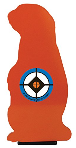 Do-All Outdoors Prairie Popper Steel Auto Resetting Shooting Target Rated for .22 Caliber