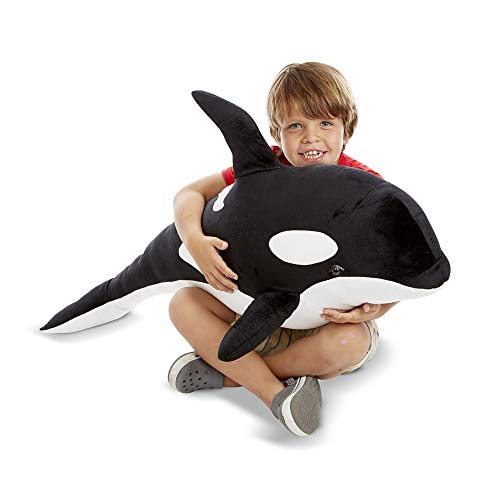 Melissa & Doug Orca Whale, Black and White (8802)