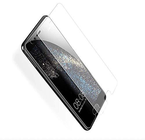 [2-Pack] Cristal Templado Huawei P10, SUERW Protector de Pantalla de vidrio Templado para Huawei P10 [9H Dureza] [Anti-aceite] [2,5D Borde]