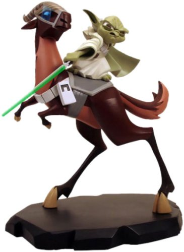 Star Wars: Clone Wars Yoda on Kybuck Maquette image