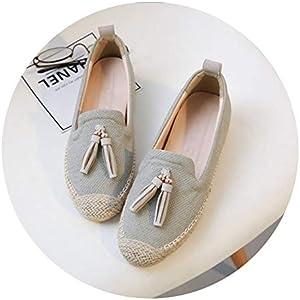 Jamais Vu Women Flat Shoes Retro Espadrilles