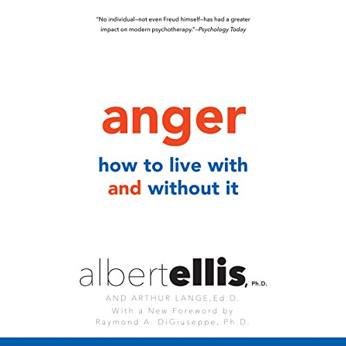 Anger audiobook cover art